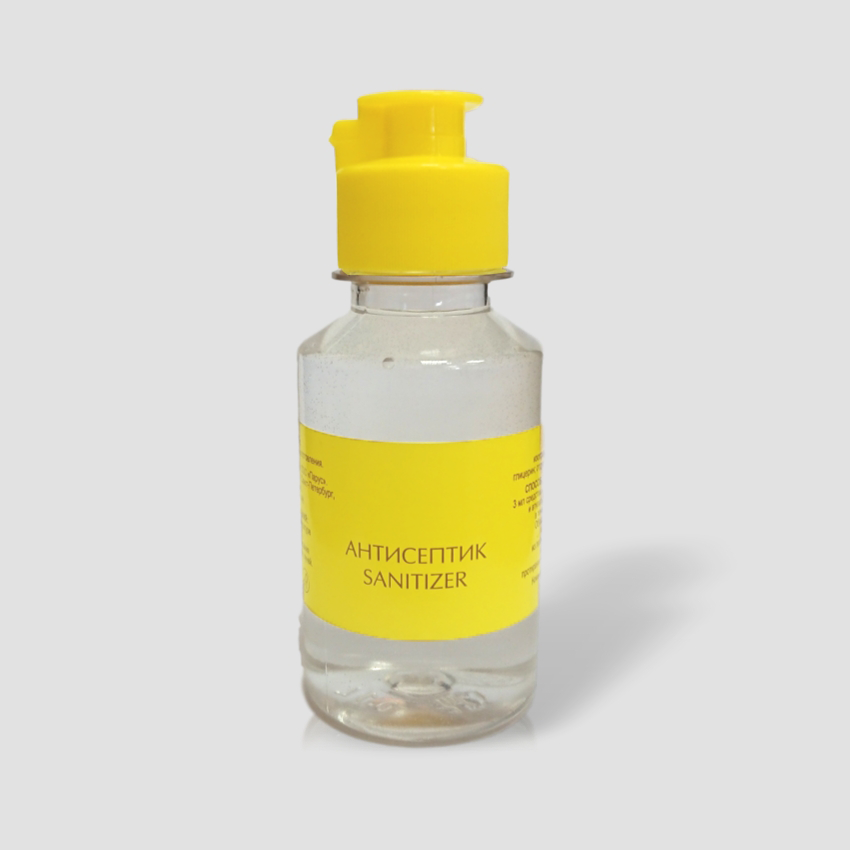 Антисептик  для кожи рук 100ml, спиртовой, (оптом)