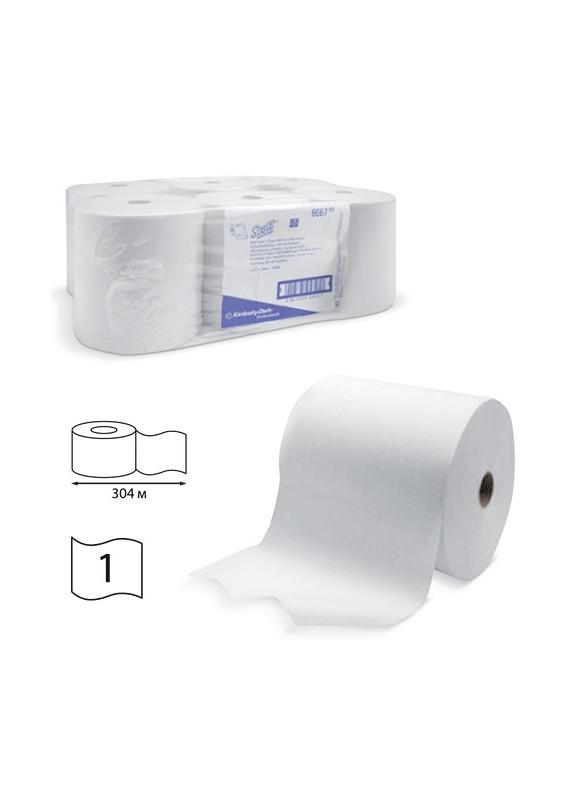 Kimberly-Clark: Полотенца бумажные Скотт 304м/20 1сл белые 6667