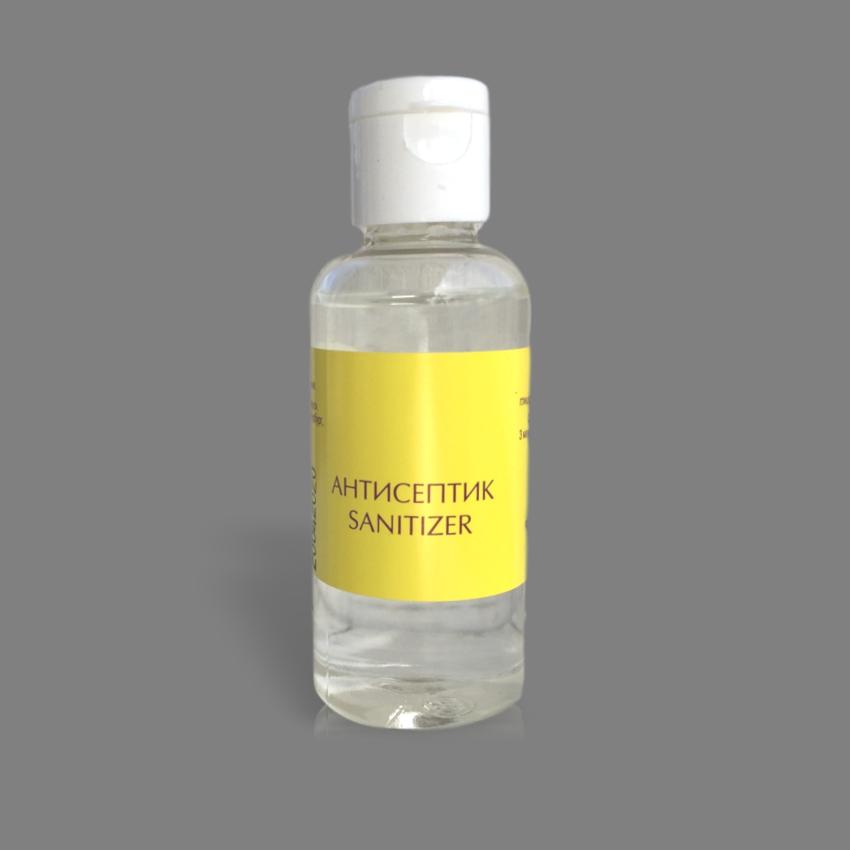 Антисептик  для кожи рук, 50ml, спиртовой, (оптом )