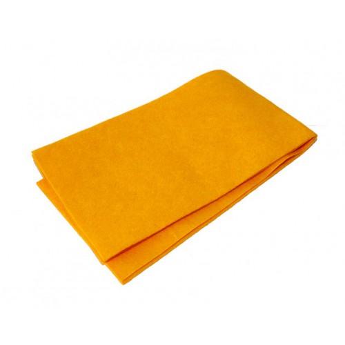 ХозСалфетки: для пола 50х60 вискоза оранжевая без упаковки