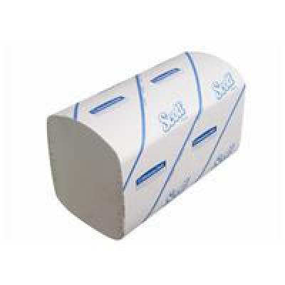 Kimberly-Clark: Полотенца бумажные Скотт 274 листов 1-слойные белые6689