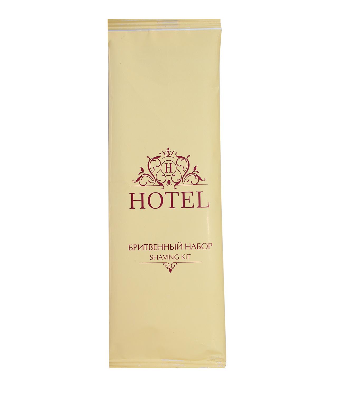 Бритвенный набор HOTEL в упаковке