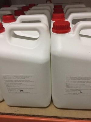 Антисептик  хлоркислородный  (для кожи рук),  5 литров . Image 3