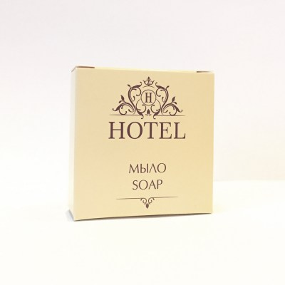 Мыло 20г в гофрэ-плиссе в картоне HOTEL. Image 0