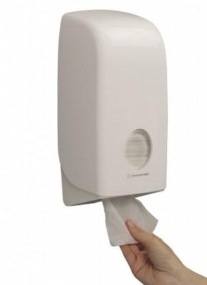 Диспенсер Kimberly-Clark 6946 Aquarius для туалетной бумаги в пачках Image 2