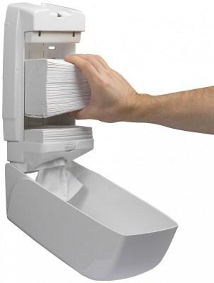 Диспенсер Kimberly-Clark 6946 Aquarius для туалетной бумаги в пачках Image 5