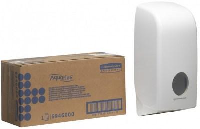 Диспенсер Kimberly-Clark 6946 Aquarius для туалетной бумаги в пачках Image 6