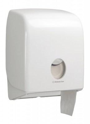 Диспенсер Аквариус для туал.бумаги в рулоне (20 см), бел./32×15×25 см 6958 Image 0