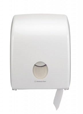 Диспенсер Аквариус для туал.бумаги в рулоне (20 см), бел./32×15×25 см 6958 Image 2