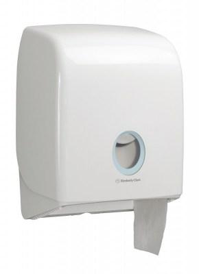 Диспенсер Аквариус для туал.бумаги в рулоне (20 см), бел./32×15×25 см 6958 Image 3
