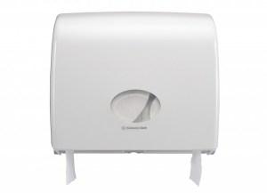 Диспенсер Аквариус для туал.бумаги в рулоне (23,5 см), бел./38,2x44,6x13,0 см  6991 Image 2
