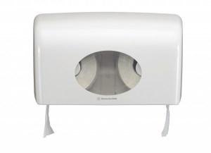 Диспенсер Аквариус для туал.бумаги на 2 стандартных рулона, бел./30×18×13 см  6992 Image 2