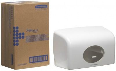 Диспенсер Аквариус для туал.бумаги на 2 стандартных рулона, бел./30×18×13 см  6992 Image 3