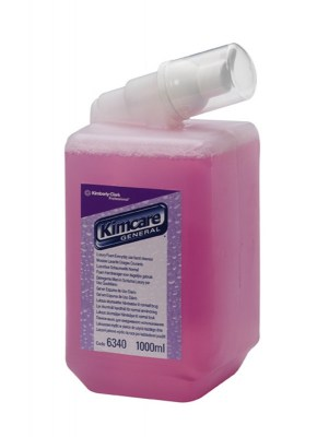 Мыло Клинекс 1 л пенное, розовое  6340 для диспенсера) Image 0
