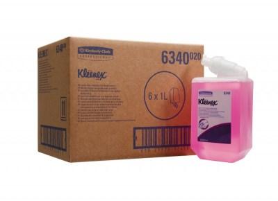 Мыло Клинекс 1 л пенное, розовое  6340 для диспенсера) Image 1
