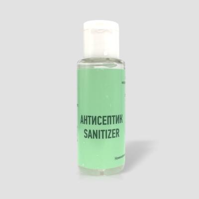 Антисептик  для кожи рук,30мл, спиртовой-алоэ, оптом Image 2