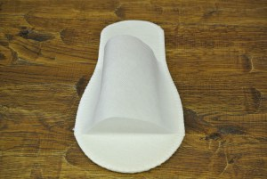 Тапочки Стандарт бел/син Image 3