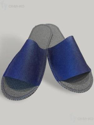 Тапочки Стандарт ЛАЙТ (белые/синие) Image 1