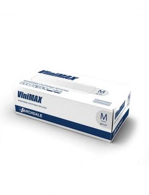 Перчатки виниловые ViniMax, 50 пар, размер S,M,L,XL Image 1