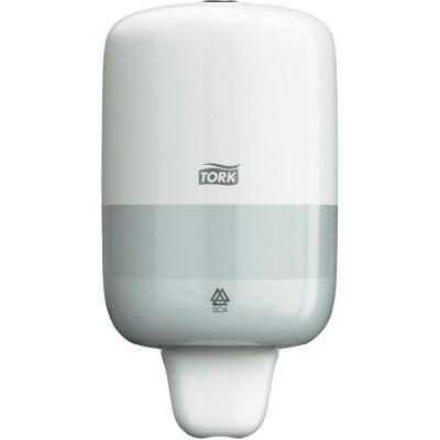 Tork: Диспенсер S2 Elevation мини 500 мл для жидкого мыла белый 561000
