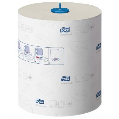 Tork:Полотенца двухслойные в рулонах бумажные H1 Advanced Soft Matic 150 метров  белые120067