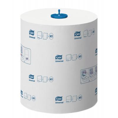 Tork: Полотенца бумажные в рулоне H1 Universal Soft Matic 280 метров 1-слойные белые290059