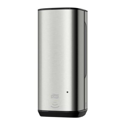 Tork: Диспенсер S4 Aluminium 1 литр для пенного мыла металлический сенсорный 460009