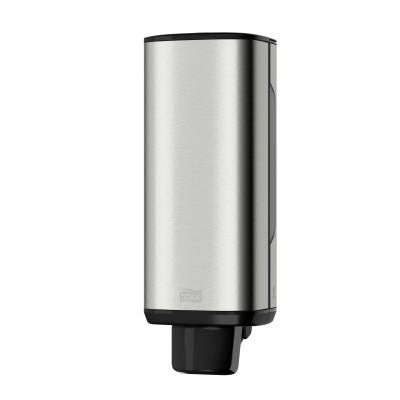 Tork: Диспенсер S4 Aluminium 1 литр для пенного мыла металлический 460010
