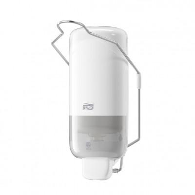 Tork: Диспенсер S1 Elevation 1л для жидкого мыла белый с локтевым приводом 560100