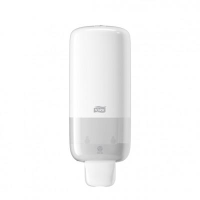 Tork: Диспенсер S4 Elevation 1 литр для пенного мыла белый 561500