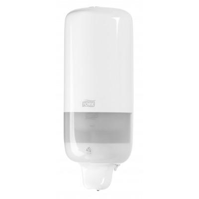 Tork: Диспенсер S1 Elevation 1 литр для жидкого мыла белый 560000