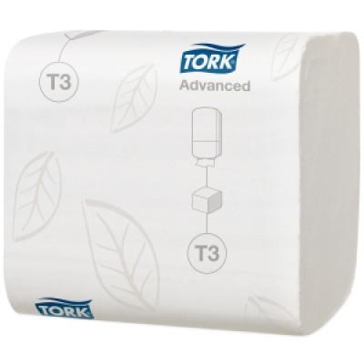 Tork: Бумага туалетная T3 Advanced 242 листа листовая двухслойная114271